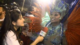 Carnaval 2014: Aline Prado diz estar feliz em desfilar no carnaval 2014
