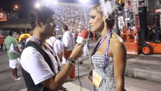 Carnaval 2014: Ana Paula Evangelista samba na cara da sociedade