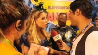 Carnaval 2014: Anitta se apresenta em camarote