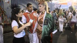 Carnaval 2014: Bárbara Evans estreia como Musa na Grande Rio