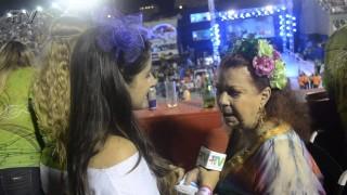 Carnaval 2014: Beth Carvalho no camarote do Porcão