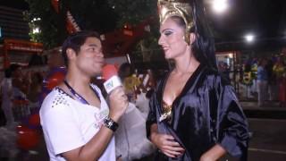 Carnaval 2014: Bruna Bruno e os brinquedinhos da União da Ilha