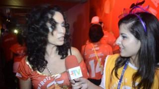 Carnaval 2014: Claudia Ohana no Camarte da Brahma