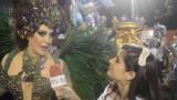 Carnaval 2014: Claudia Raia desfila na Beija-Flor como madrinha da escola