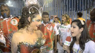 Carnaval 2014: Cristiane Toloni Rainha de Bateria