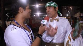 Carnaval 2014: Elymar Santos na concentração da Imperatriz
