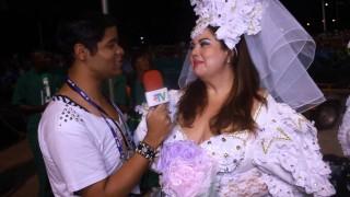 Carnaval 2014: Fabiana Karla homenageia cidade natal no desfile da mocidade