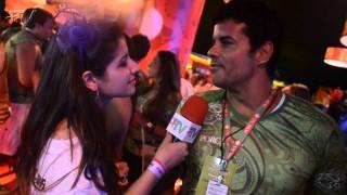 Carnaval 2014: Jorge Pontual no camarote do Porcão
