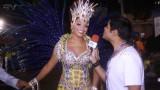 Carnaval 2014: Juliana Alves com o coração acelerado para desfilar na Unidos da Tijuca
