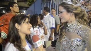 Carnaval 2014: Juliana Paiva pronta para desfilar como destaque na Grande Rio
