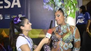Carnaval 2014: Karina Costa, rainha de bateria da Unidos de Padre Miguel