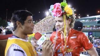 Carnaval 2014: Leandra Leal no Camarote da Brahma