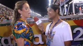 Carnaval 2014: Luana Piovani dá dica para beijar na boca no desfile da Mocidade