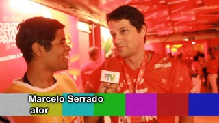 Carnaval 2014: Marcelo Serrado no Camarote da Brahma