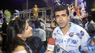Carnaval 2014: Marcius Melhem pronto para homenager o Boni na Beija-Flor