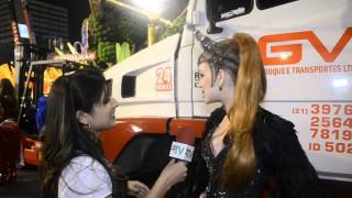 Carnaval 2014: Marina Ruy Barbosa desfila pela primeira vez na Sapucaí