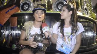 Carnaval 2014: MC Marcelly na concentração da São Clemente