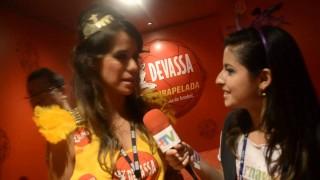 Carnaval 2014: Miá Mello no Camarote Devassa