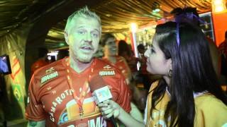 Carnaval 2014: Miguel Falabella no Camarote Brahma