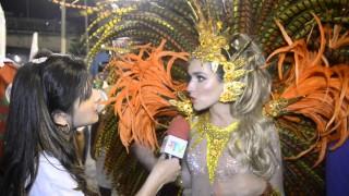Carnaval 2014: Monique Alfadique na expectativa de desfilar pela Grande rio