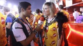 Carnaval 2014: Nathalia Rodriguez no Camarote Devassa