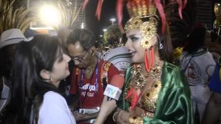Carnaval 2014: Paloma Bernardi é uma das musas da Grande Rio