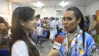 Carnaval 2014: Raissa Oliveira comemora mais um ano a frente da bateria da Beija-Flor