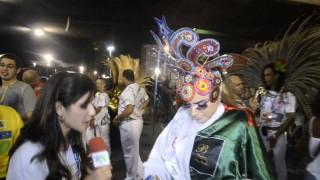 Carnaval 2014: Rayanne Moraes na concentração para o desfile da Grande Rio