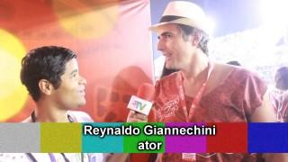 Carnaval 2014: Reynaldo Gianecchini em camarote na Sapucaí