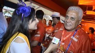 Carnaval 2014: Roberto Dinamite no Camarote da Brahma