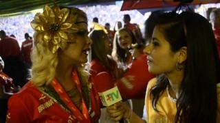 Carnaval 2014: Samara Felippo no Camarote Devassa