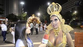 Carnaval 2014: Solange Gomes rainha da Porto da Pedra na concentração