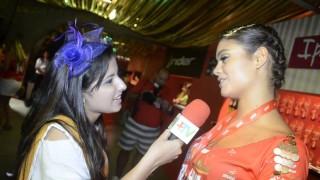 Carnaval 2014: Sophie Charlotte no camarote da Brahma