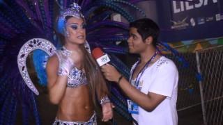 Carnaval 2014: Thayla Ayala estreia como musa da Vila Isabel