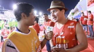 Carnaval 2014: Thiago Martins no camarote da Brahma