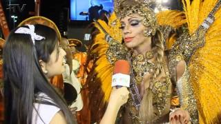 Carnaval Plus TV 2015 || Ana Paula Evangelista – Rainha de Bateria da Unidos de Padre Miguel