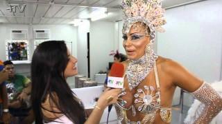 Carnaval Plus TV 2015 || Ângela Bismarchi – Rainha de Bateria do Império Serrano