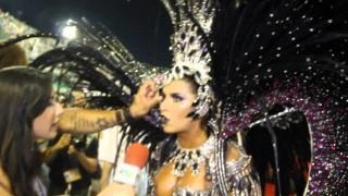 Carnaval Plus TV 2015 || Bianca Leão – Rainha de Bateria da Porto da Pedra.