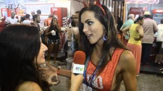 Carnaval Plus TV 2015 || Carla Prata revela detalhes sobre asua fantasia