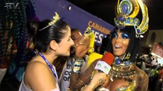Carnaval Plus TV 2015 || | Carla Prata vestida de Cleópatra – Musa da União da Ilha