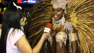 Carnaval Plus TV 2015 || Cris Alves – Rainha de Bateria da Acadêmicos do Cubango