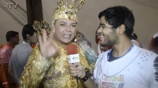 Carnaval Plus TV 2015 || David Brasil desfila pela a Grande Rio.