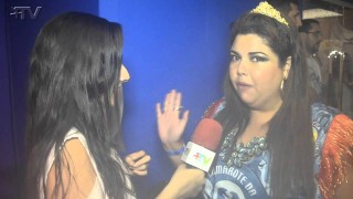 Carnaval Plus TV 2015 || Fabiana Karla no Camarote da Boa