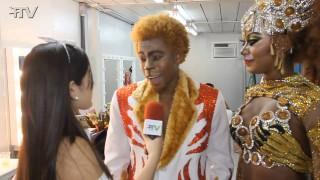 Carnaval Plus TV 2015 || Luana Bandeira e Mayombe Masai – Rainha e Rei da Bateria da Estácio de Sá