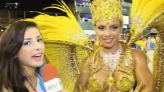 Carnaval Plus TV 2015 || Nanda Guimarães – Rainha de Bateria da União do Parque Curicica