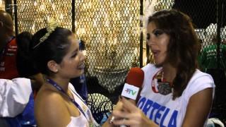 Carnaval Plus TV 2015 || Thalita Rebouças na Concentração da Portela