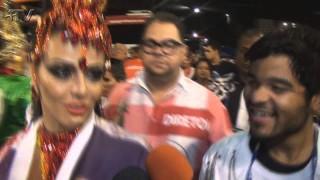 Carnaval Plus TV 2015 || Viviane Araújo, rainha de bateria do Salgueiro