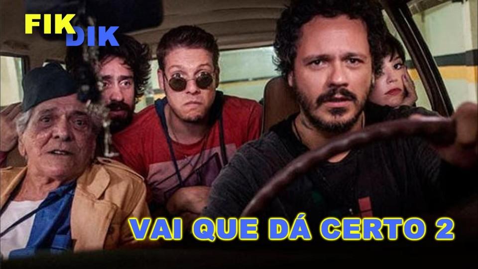 Fikdik – Vai Que Dá Certo 2    Entrevista Fábio Porchat, Lucio Mauro Filho e Natália Lage
