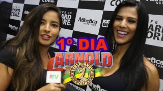 Plus TV no Arnold Classic Brasil 2016 || Primeiro  Dia – 01/04