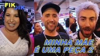 FIKDIK || Minha Mãe é Uma Peça 2 – Entrevista Paulo Gustavo, Mariana Xavier e Rodrigo Pandolfo